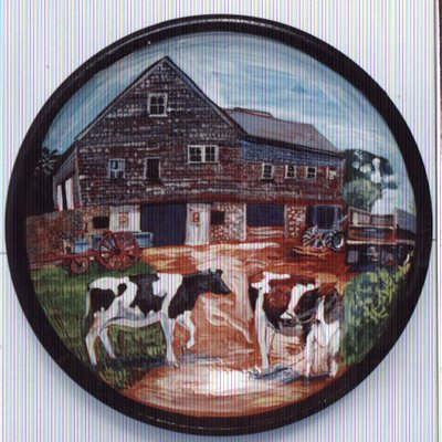 Nip N Tuck Farm Plate