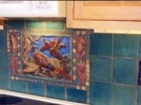 Pheasant Mural installation