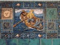 Fisherman mural